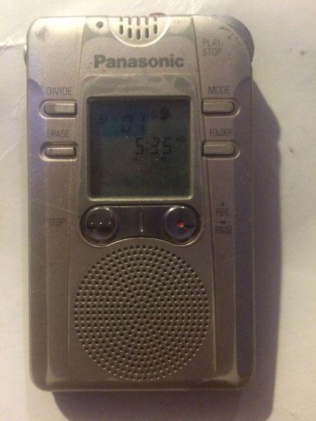 Panasonic RR-QR200 Digital Recorder - Electronic Voice